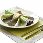 Silk placemat sets