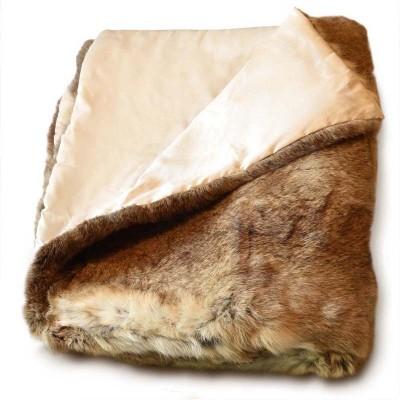 rabbit skin bed cover