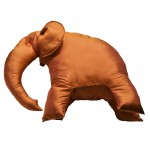 silk elephant cushions