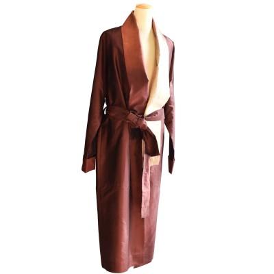ladies silk robe